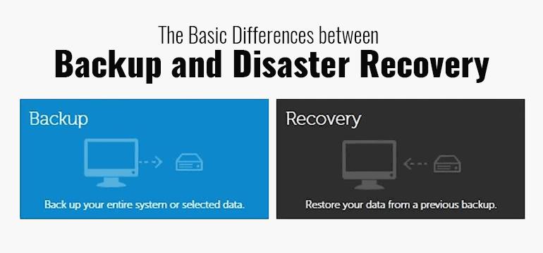 Backup vs Recovery